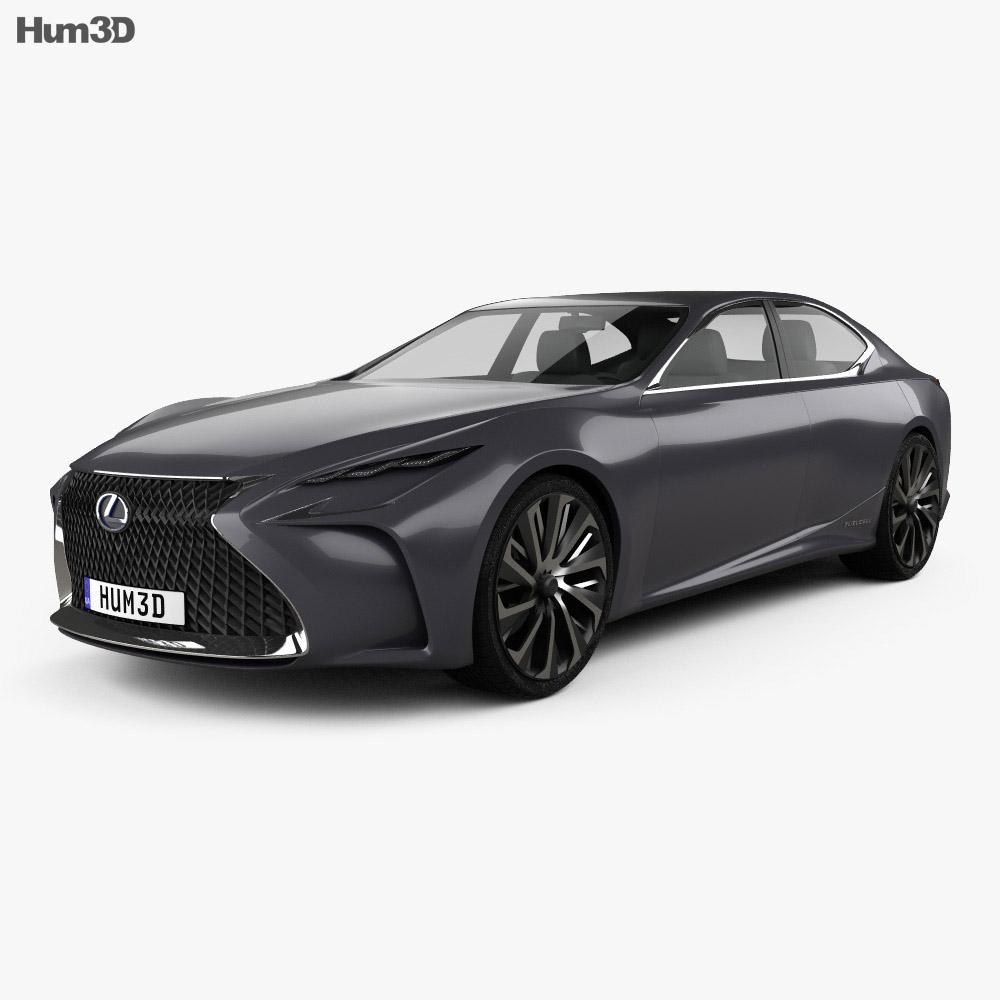 Lexus LF-FC 2015 3d model
