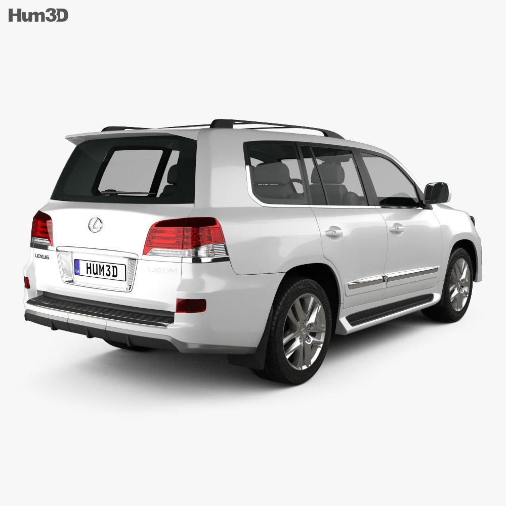 Lexus LX Sport 2013 3d model
