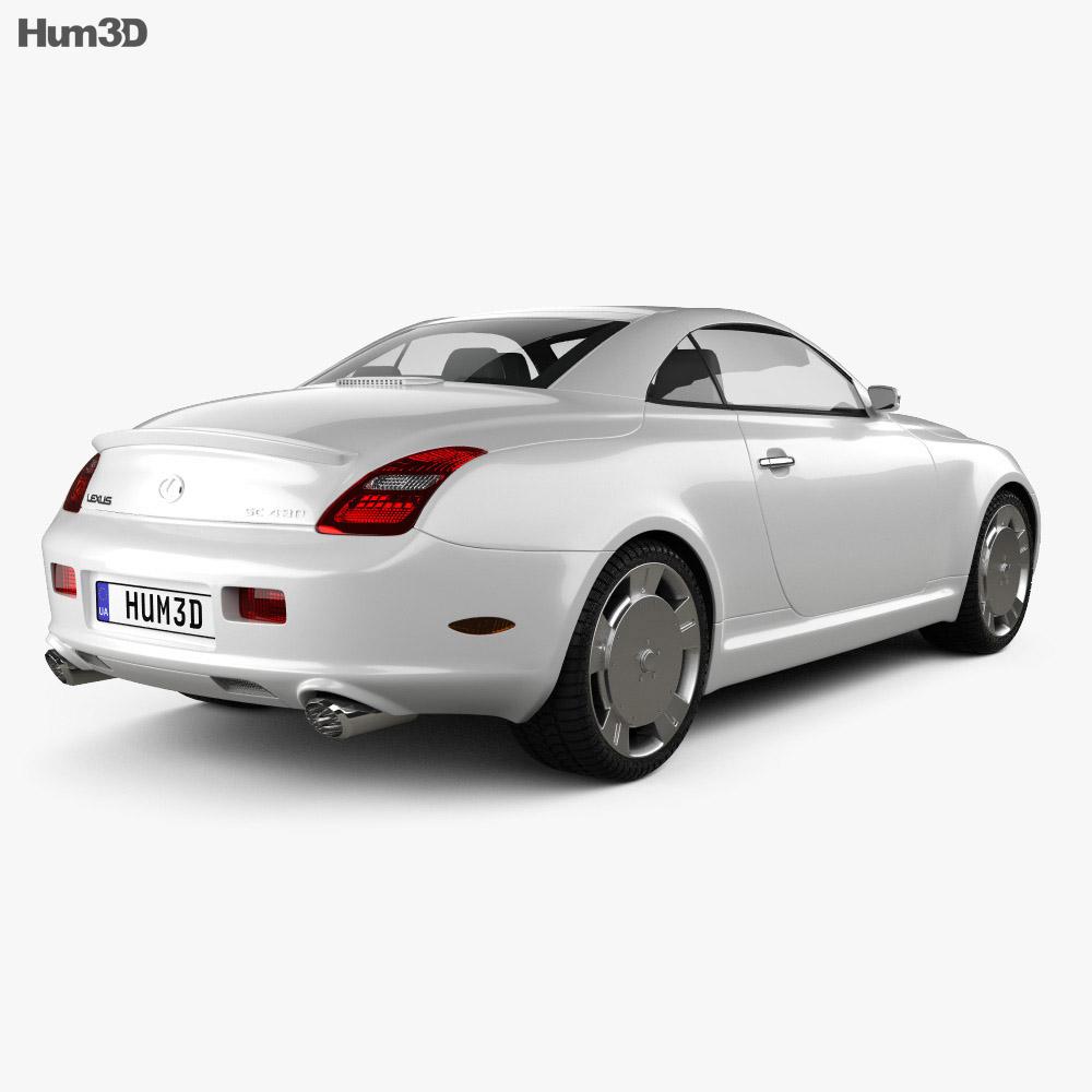Lexus SC (Z40) 2007 3d model