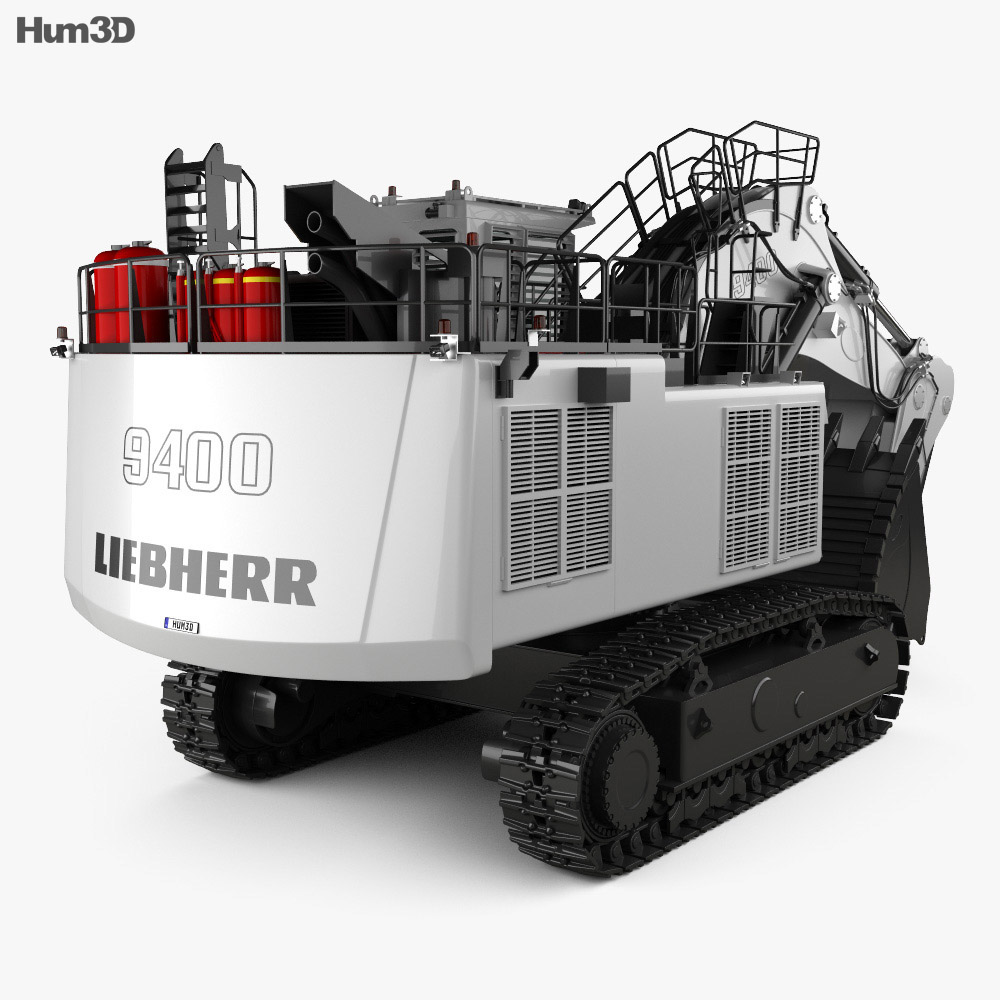 Liebherr R9400 2018 3d model