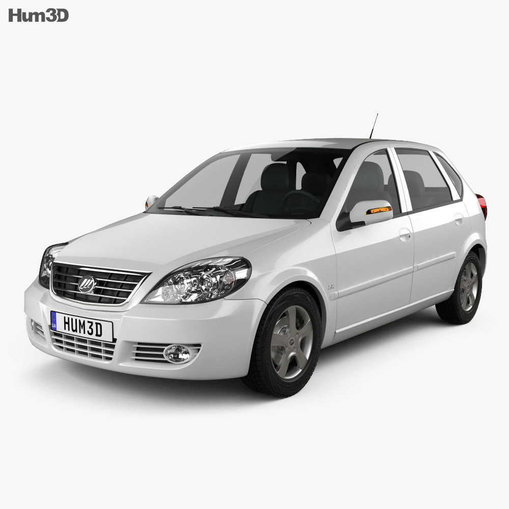 Lifan Breez (521) hatchback 2012 3d model