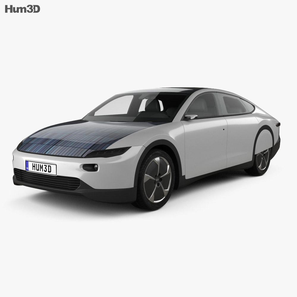 3D model of Lightyear One 2020