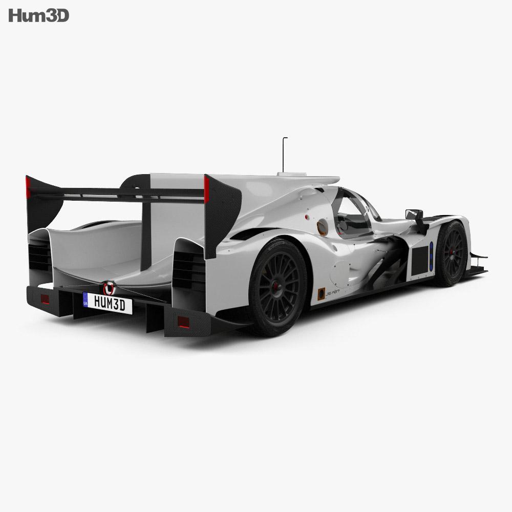 Ligier JSP217 2017 3d model