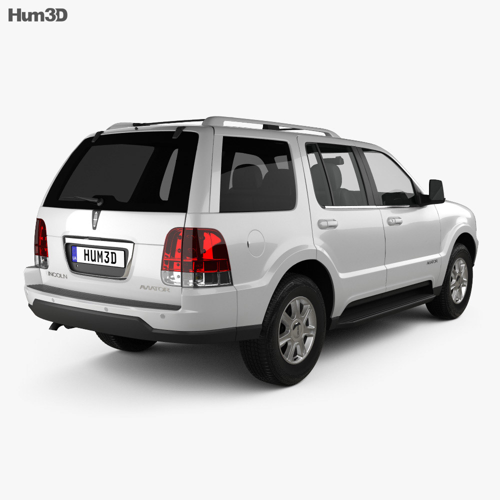 Lincoln Aviator 2002 3d model