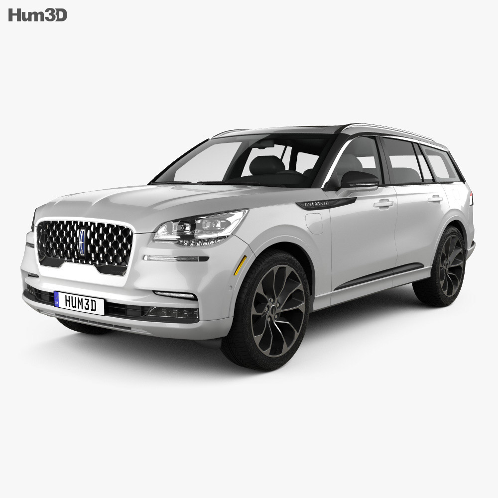Lincoln Aviator Grand Touring 2019 3d model