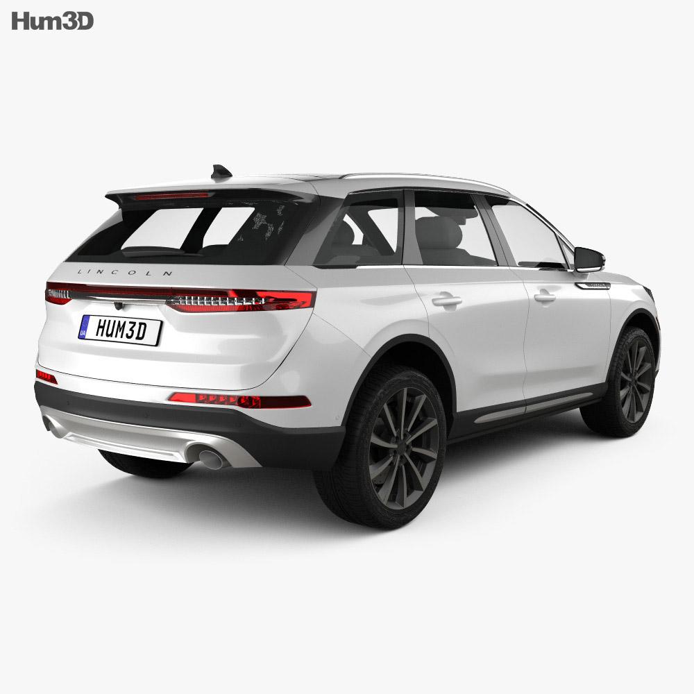 Lincoln Corsair 2020 3d model