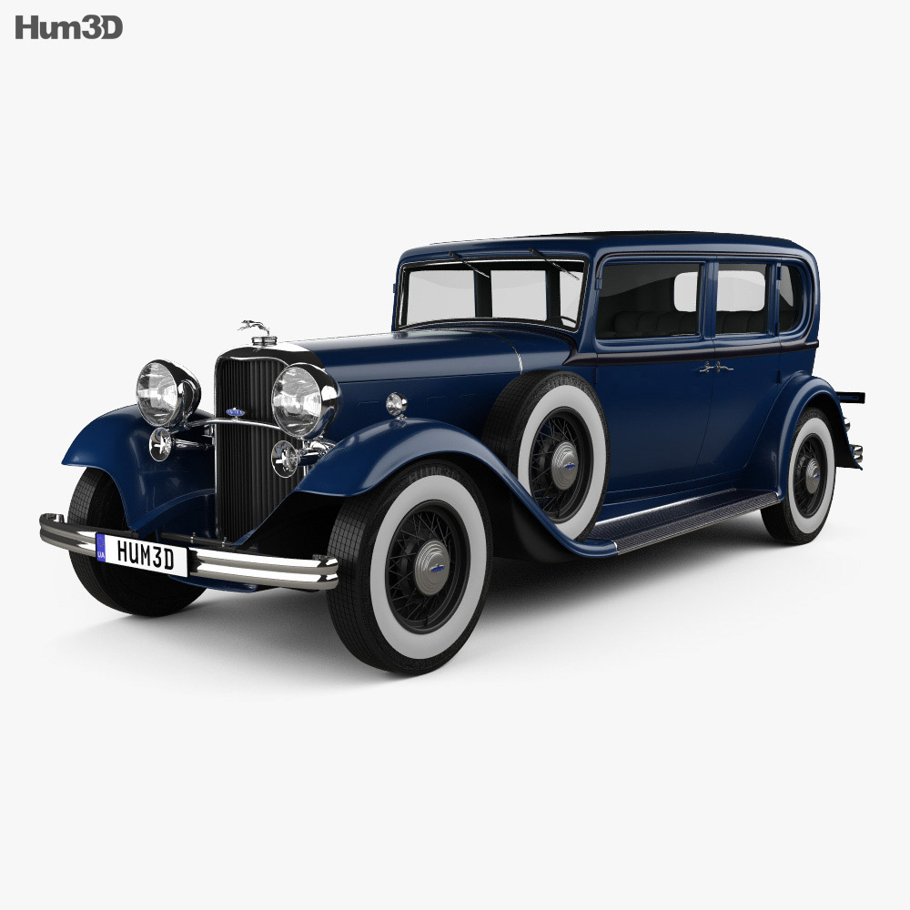 Lincoln KB Limousine 1932 3d model