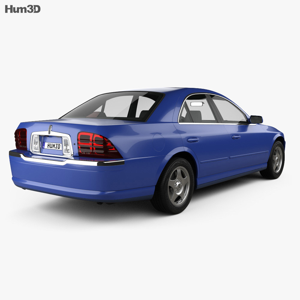 Lincoln LS 1999 3d model