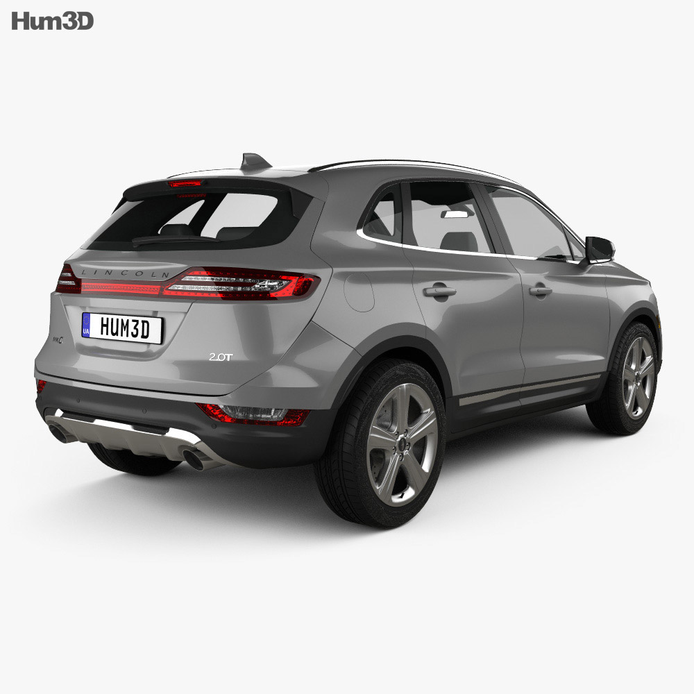 Lincoln MKC Reserve 2017 3d model
