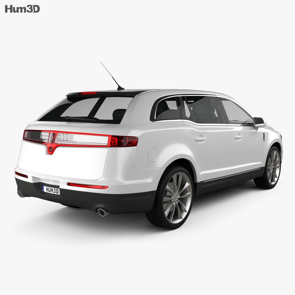 Lincoln MKT 2012 3d model