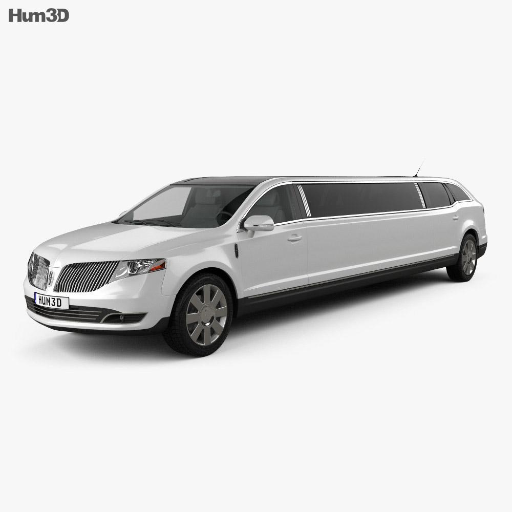 Lincoln MKT Royale Limousine 2012 3d model