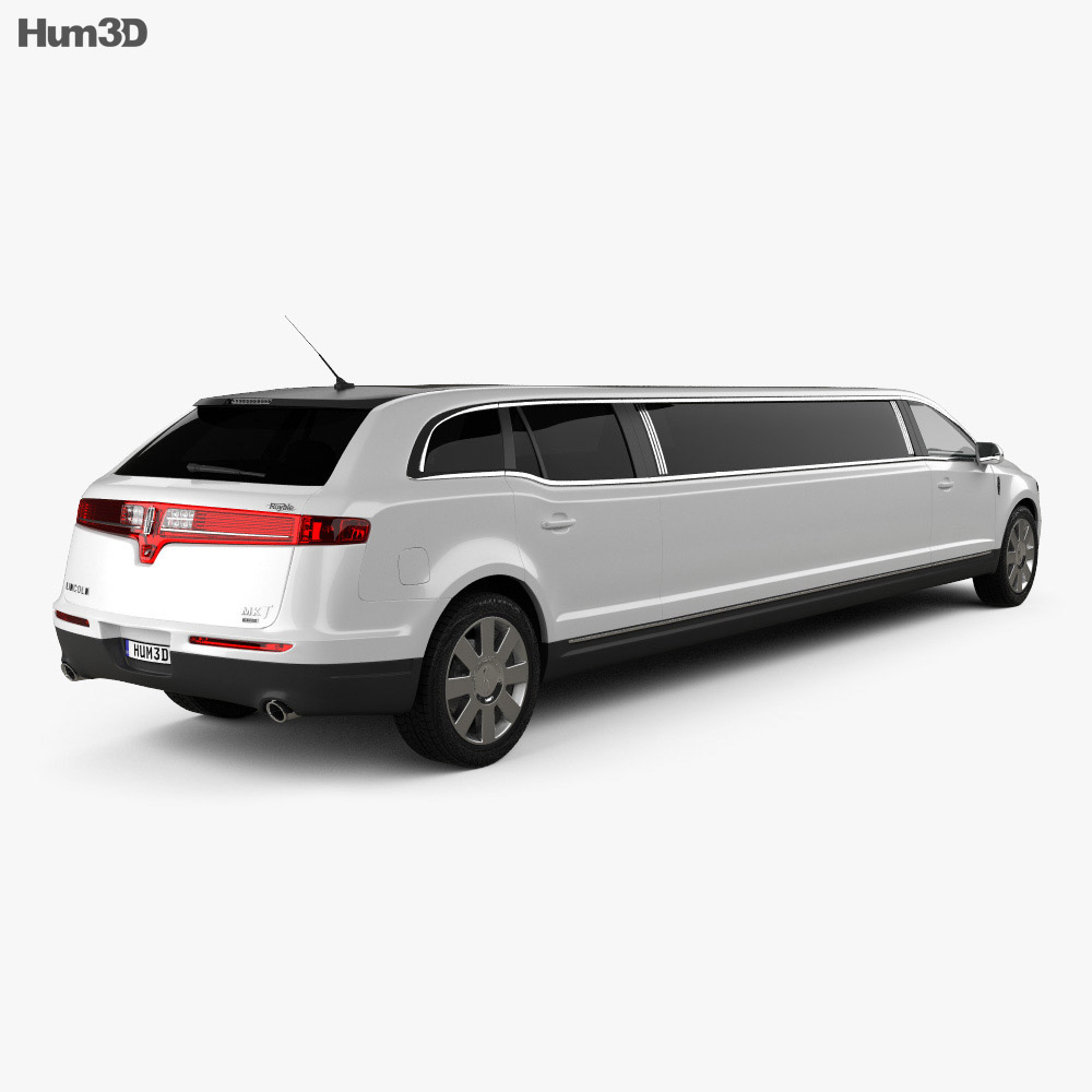 Lincoln MKT Royale Limousine 2012 3d model