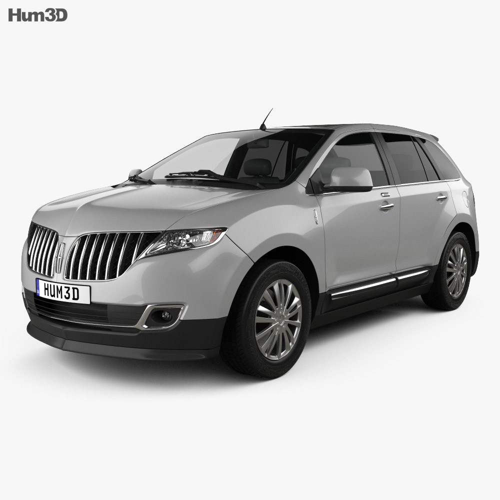 Lincoln MKX 2011 3d model