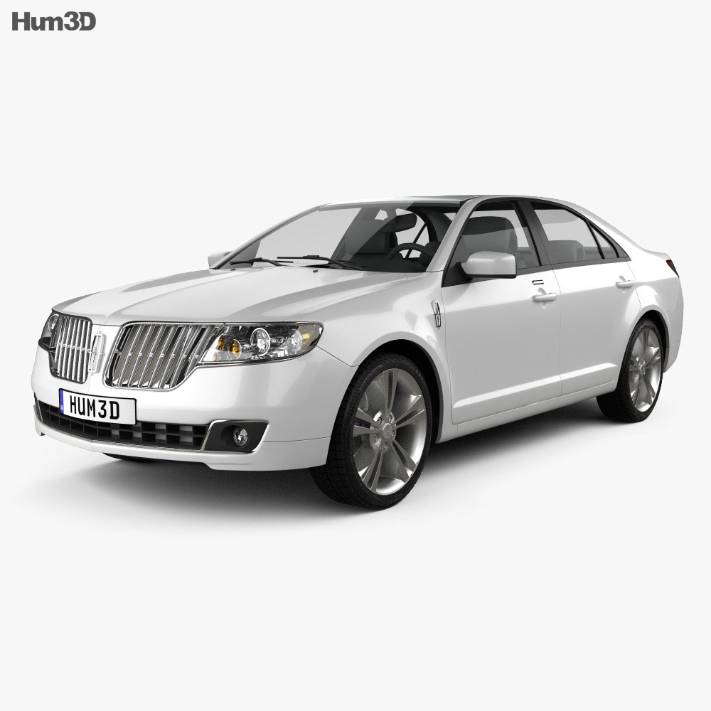 Lincoln MKZ 2012 3d model
