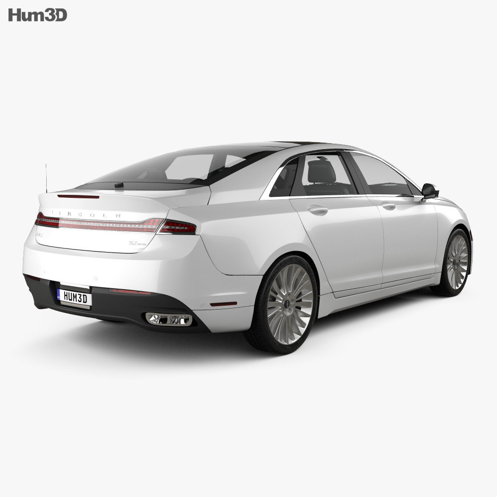 Lincoln Mkz: Lincoln MKZ 2013 3D Model
