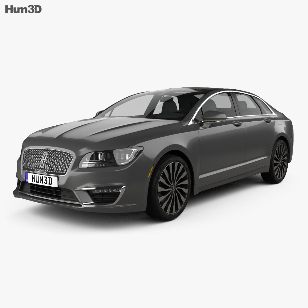 2016 Lincoln Cars: Lincoln MKZ 2017 3D Model