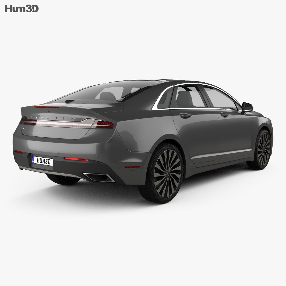 Lincoln Mkz: Lincoln MKZ 2017 3D Model