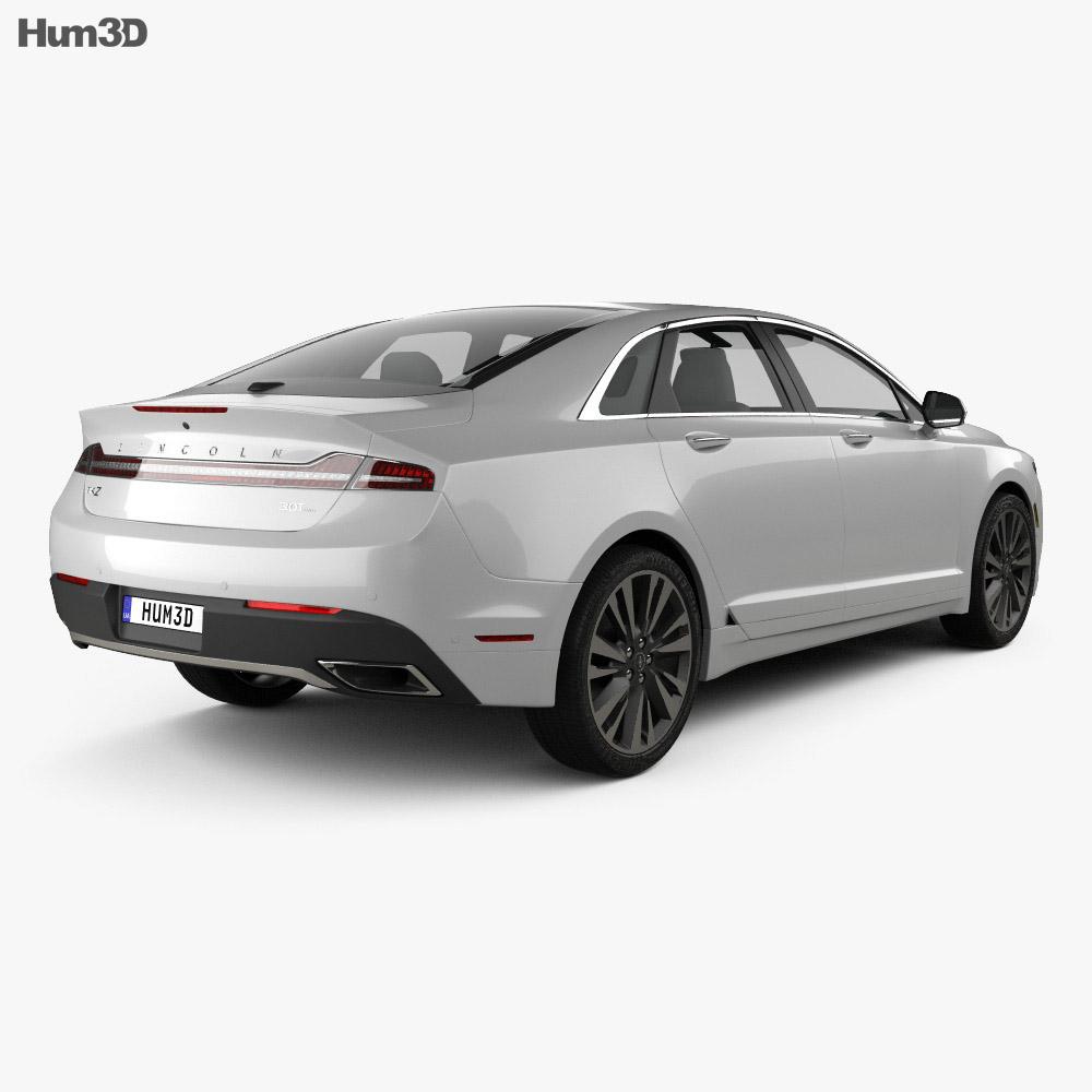 Lincoln MKZ Reserve 2017 3d model