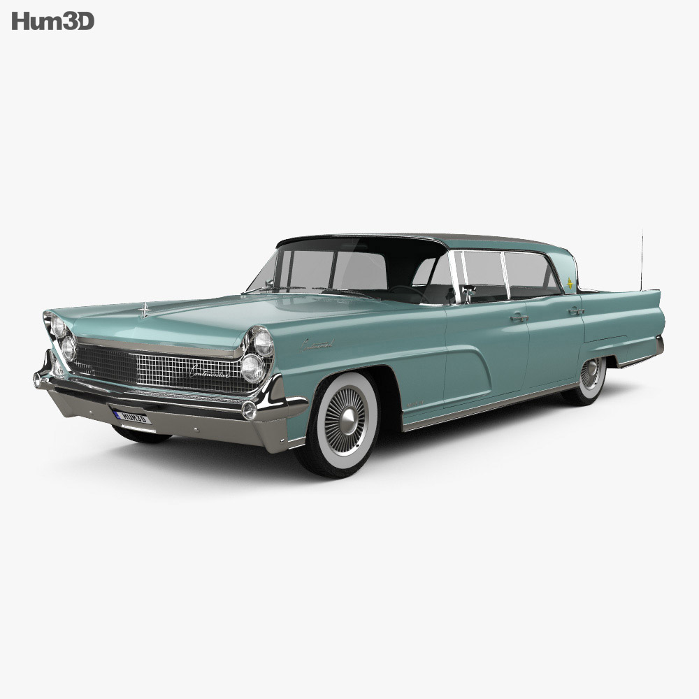 Lincoln Continental Mark IV 1959 3d model