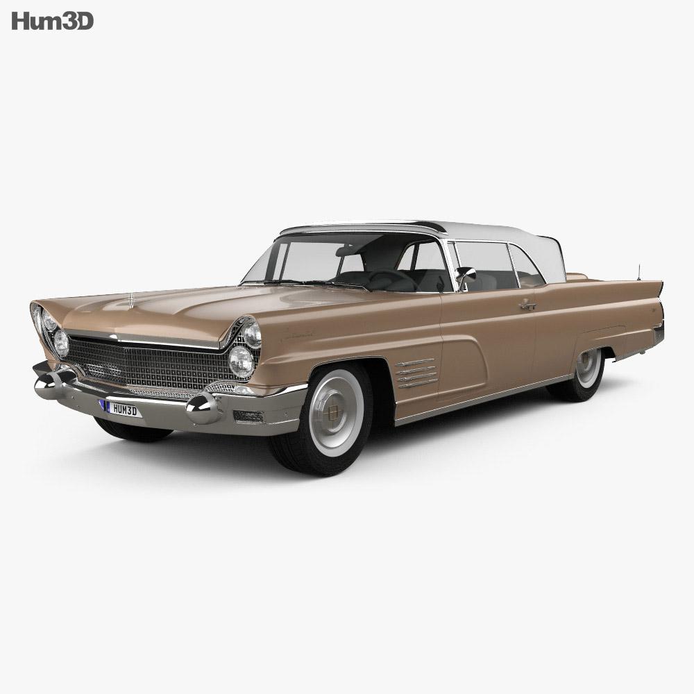 lincoln continental mark v 1960 3d model humster3d. Black Bedroom Furniture Sets. Home Design Ideas