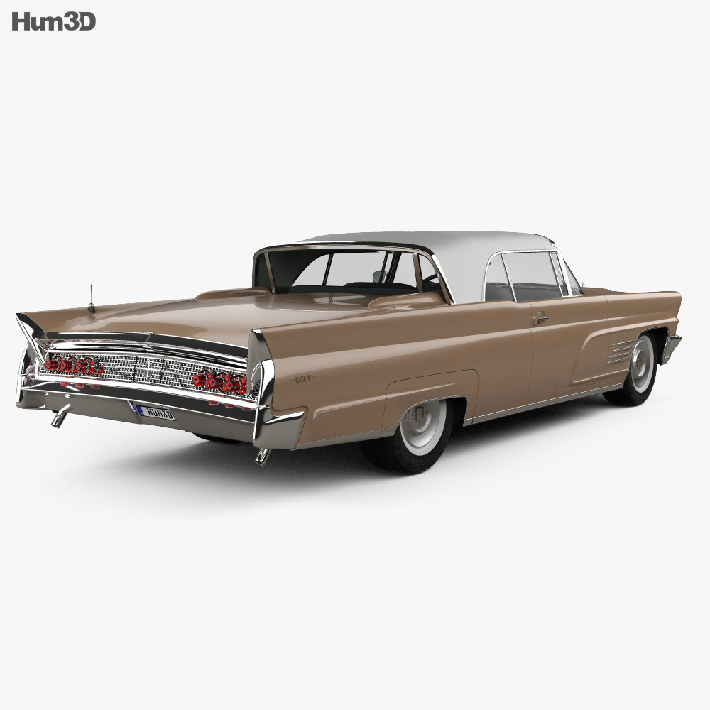 Lincoln Continental Mark V 1960 3d model