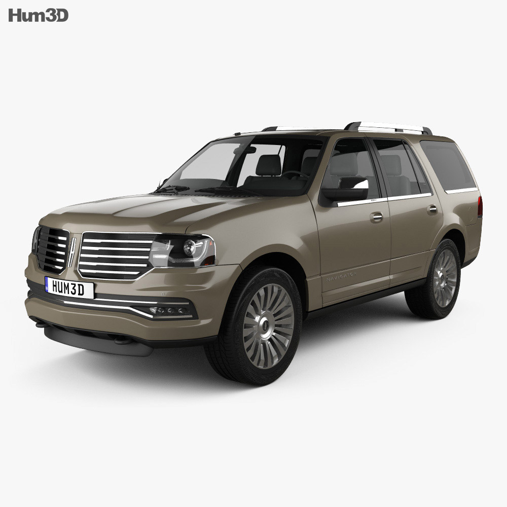 Lincoln Navigator 2015 3d model