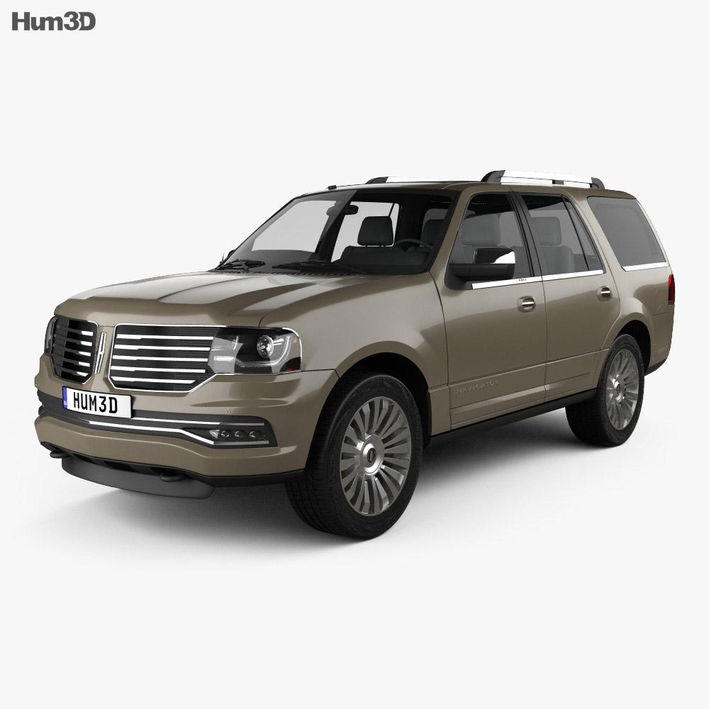 Lincoln Navigator 2015 3d model