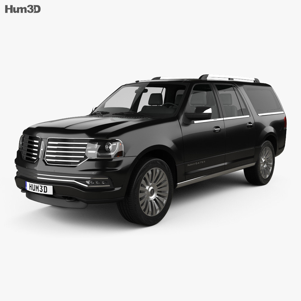 Lincoln Navigator L 2014 3d model