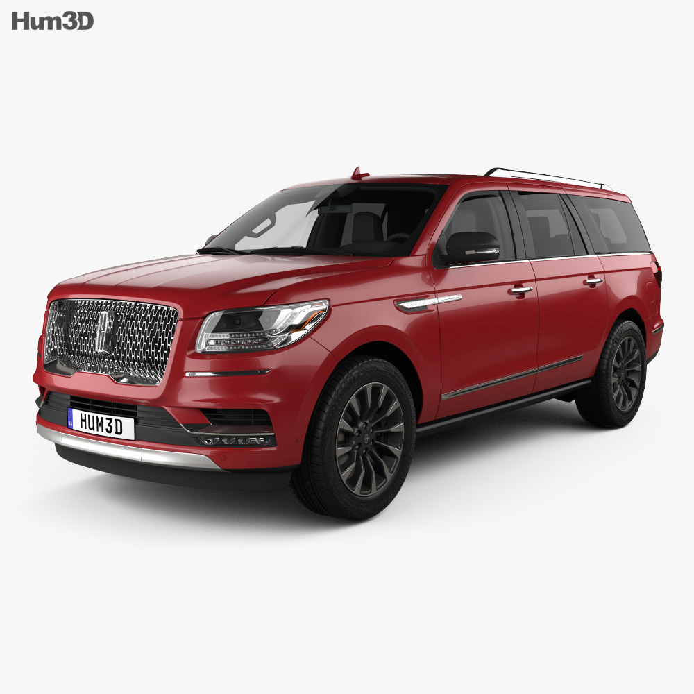 Lincoln Navigator L Select 2017 3d model