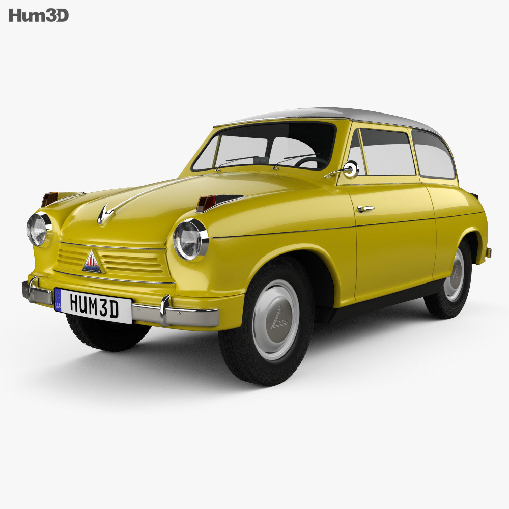 Lloyd LP 600 1955 3d model