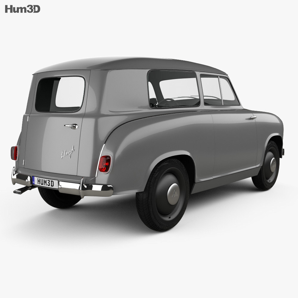 Lloyd LS 400 1953 3d model