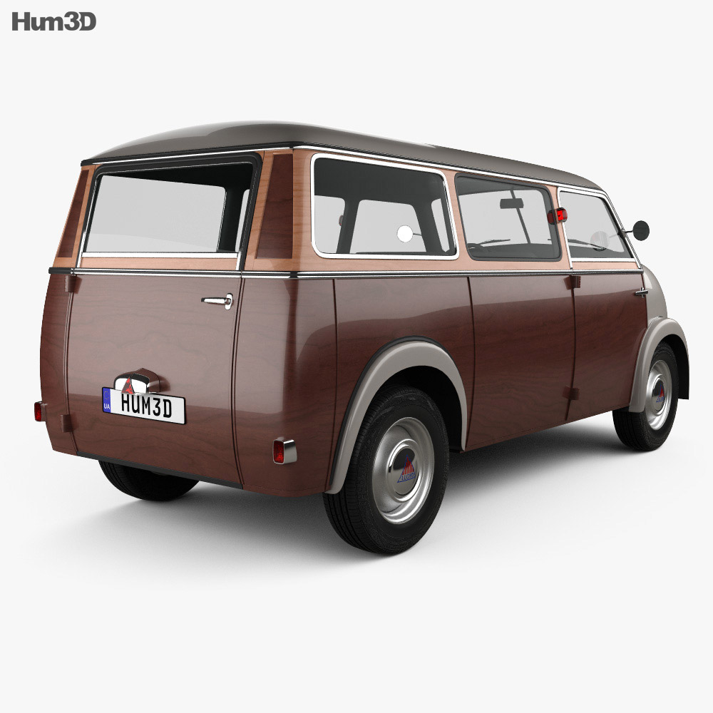 Lloyd LT 500 1955 3d model