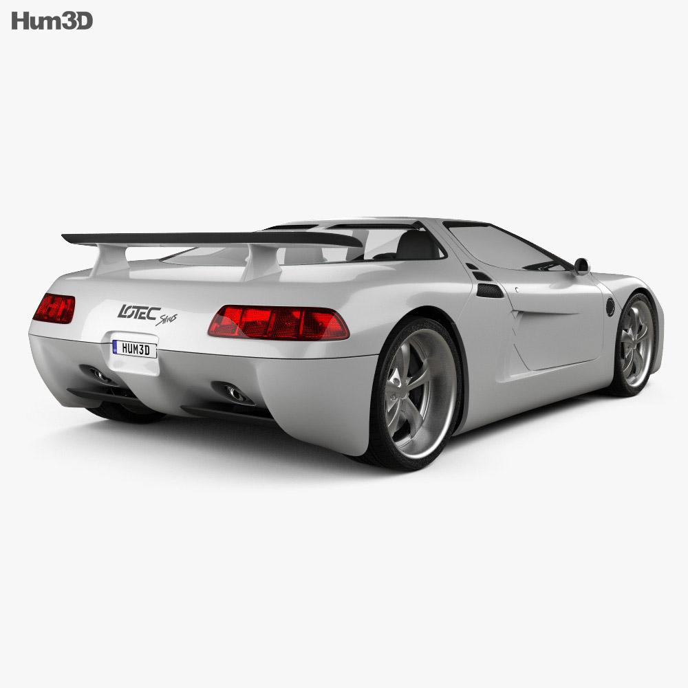Lotec Sirius 2001 3d model