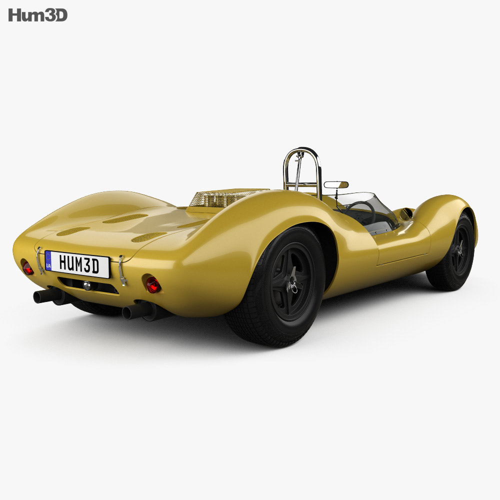 Lotus 30 1964 3d model