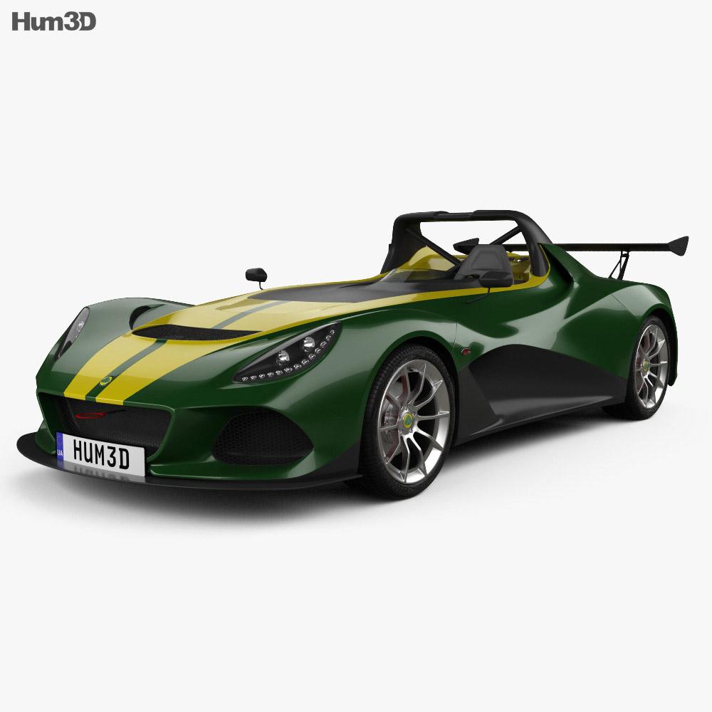 Lotus 3-Eleven 2016 3d model