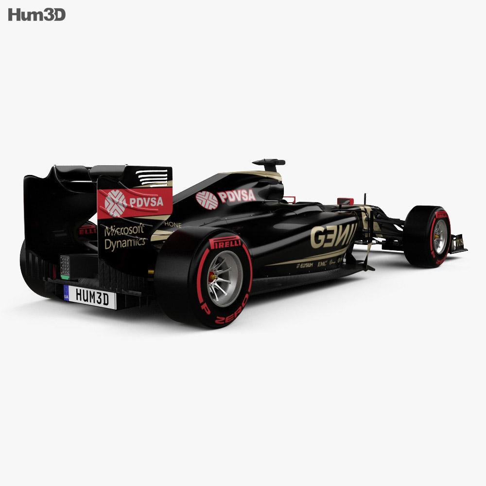 Lotus E23 Hybrid 2015 3d model