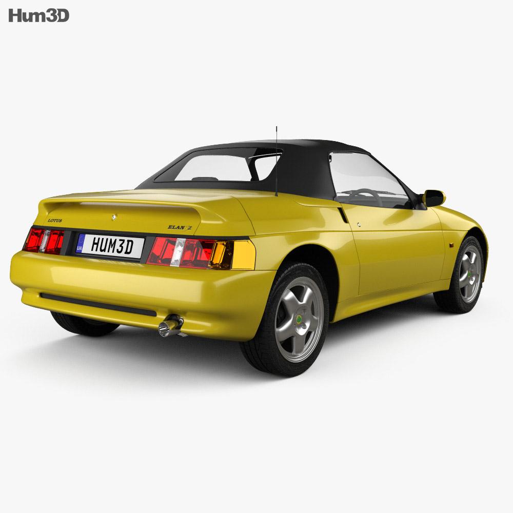 Lotus Elan S2 1994 3d model