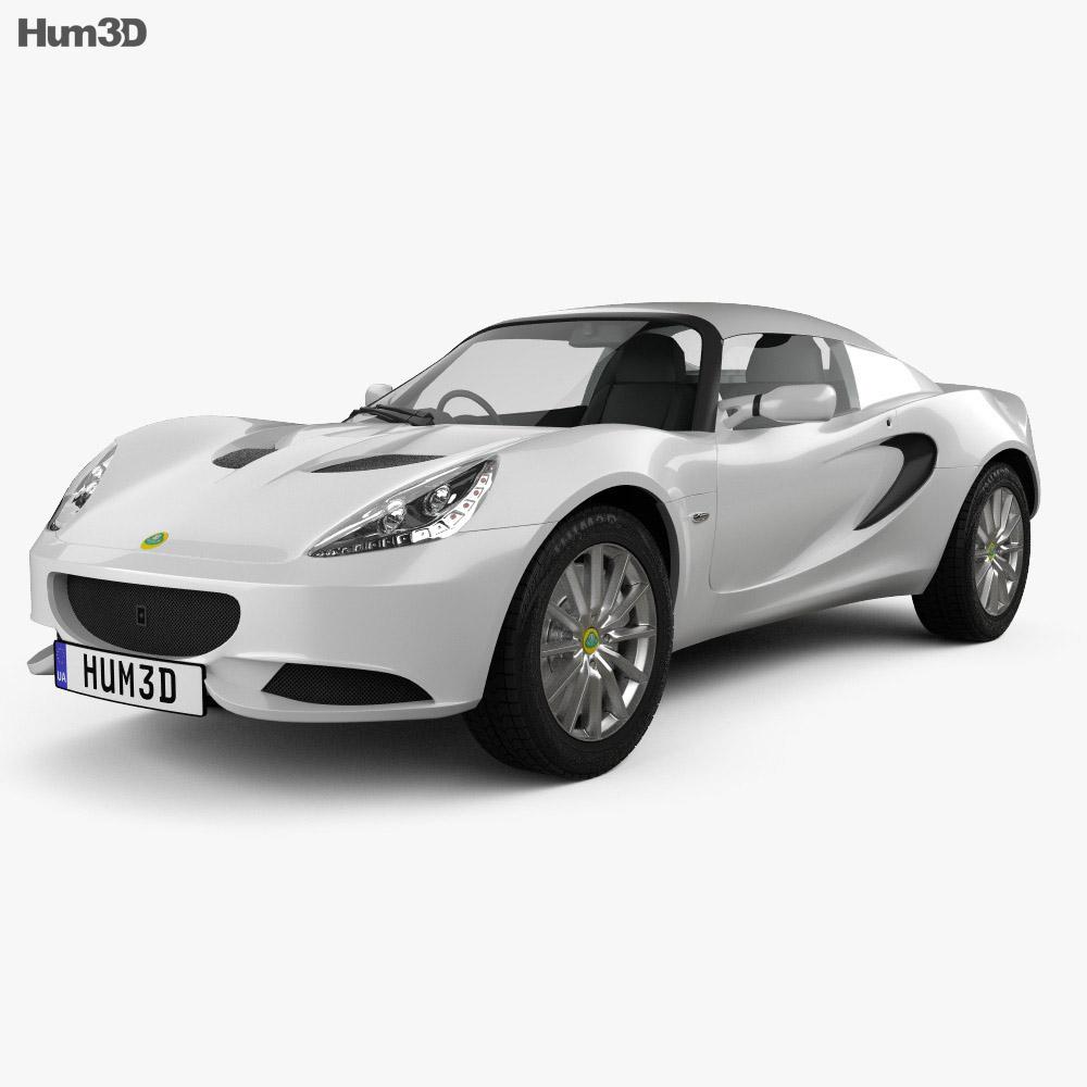 Lotus Elise 2012 3d model