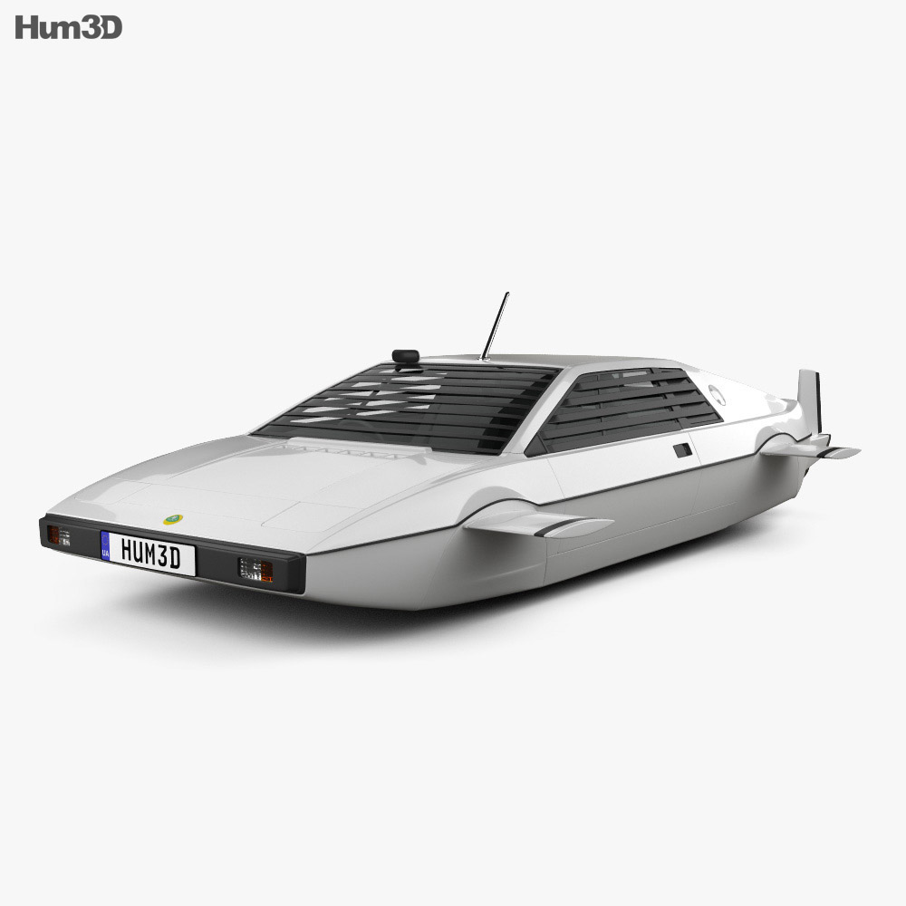 Lotus Esprit James Bond Wet Nellie 1977 3d model
