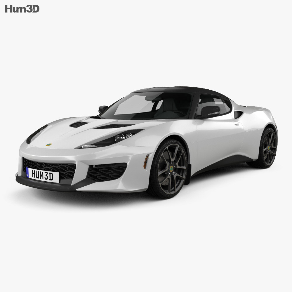 Lotus Evora 400 2014 3d model