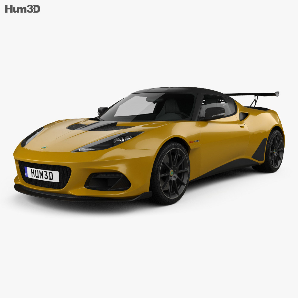 Lotus Evora GT 430 2018 3D Model