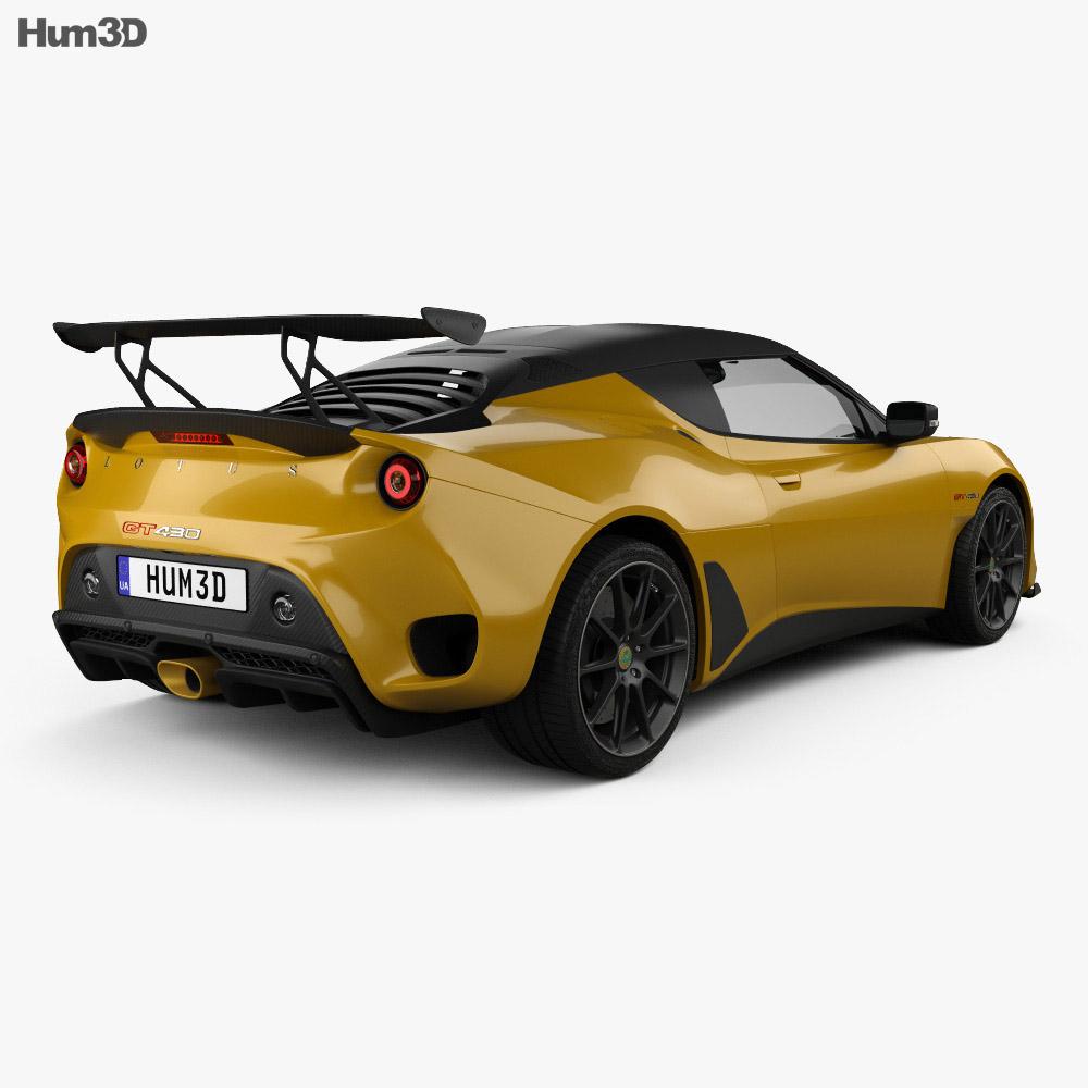 lotus evora gt 430 2018 3d model hum3d. Black Bedroom Furniture Sets. Home Design Ideas