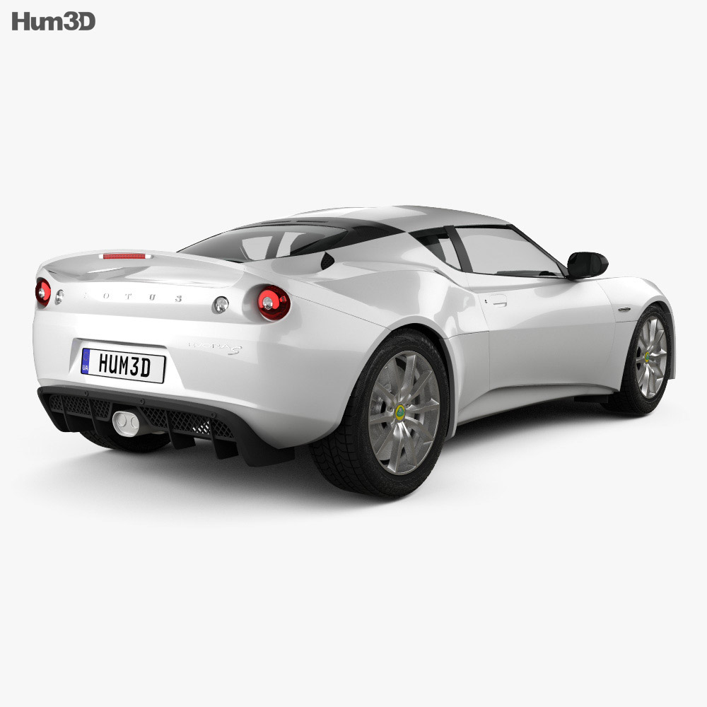 Lotus Evora S 2011 3d model
