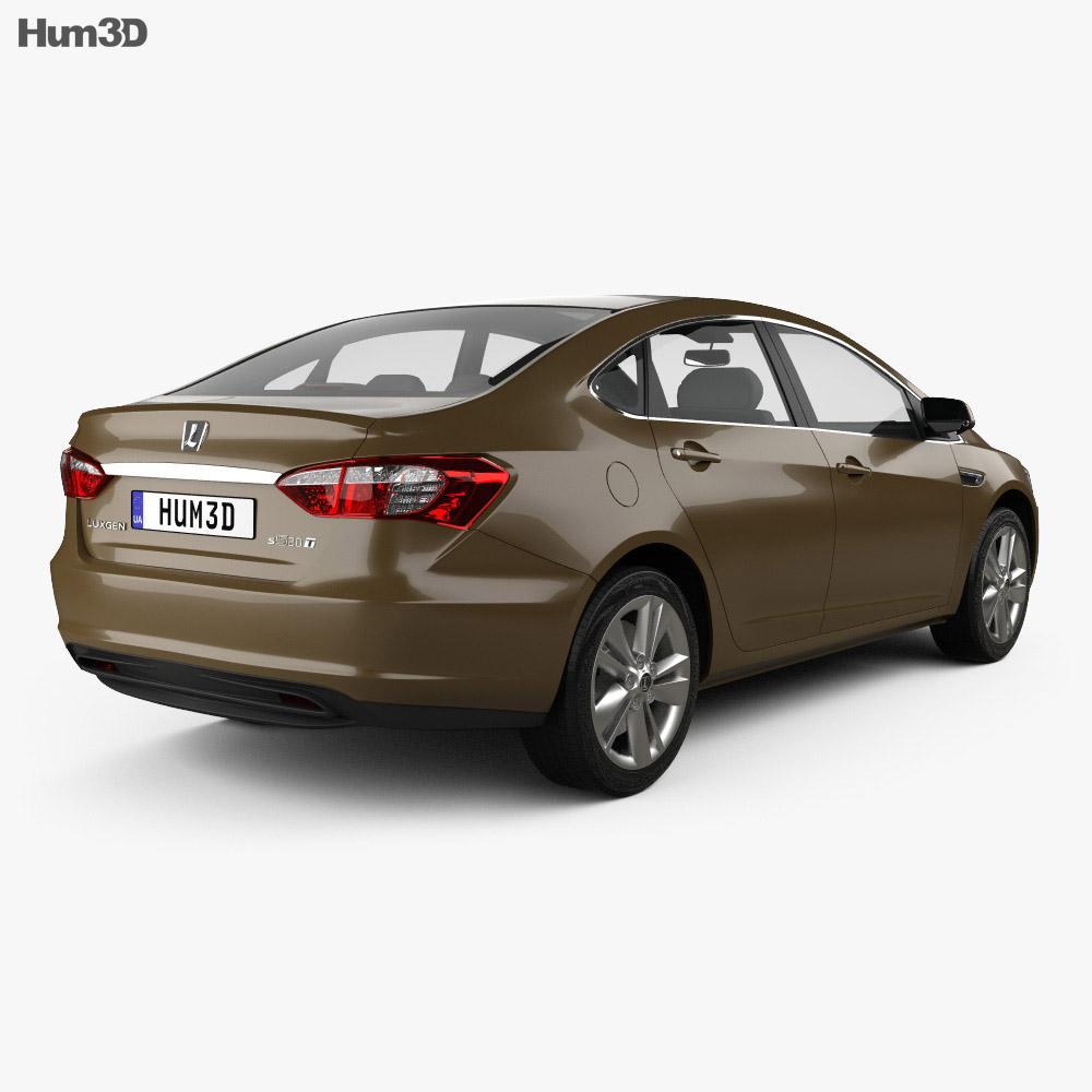 Luxgen 5 Sedan 2012 3d model