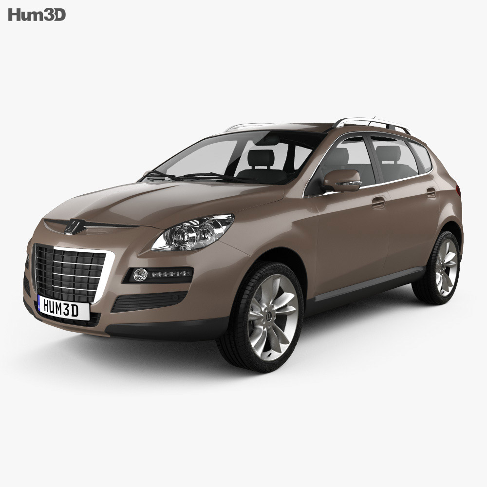 Luxgen 7 SUV 2010 3d model