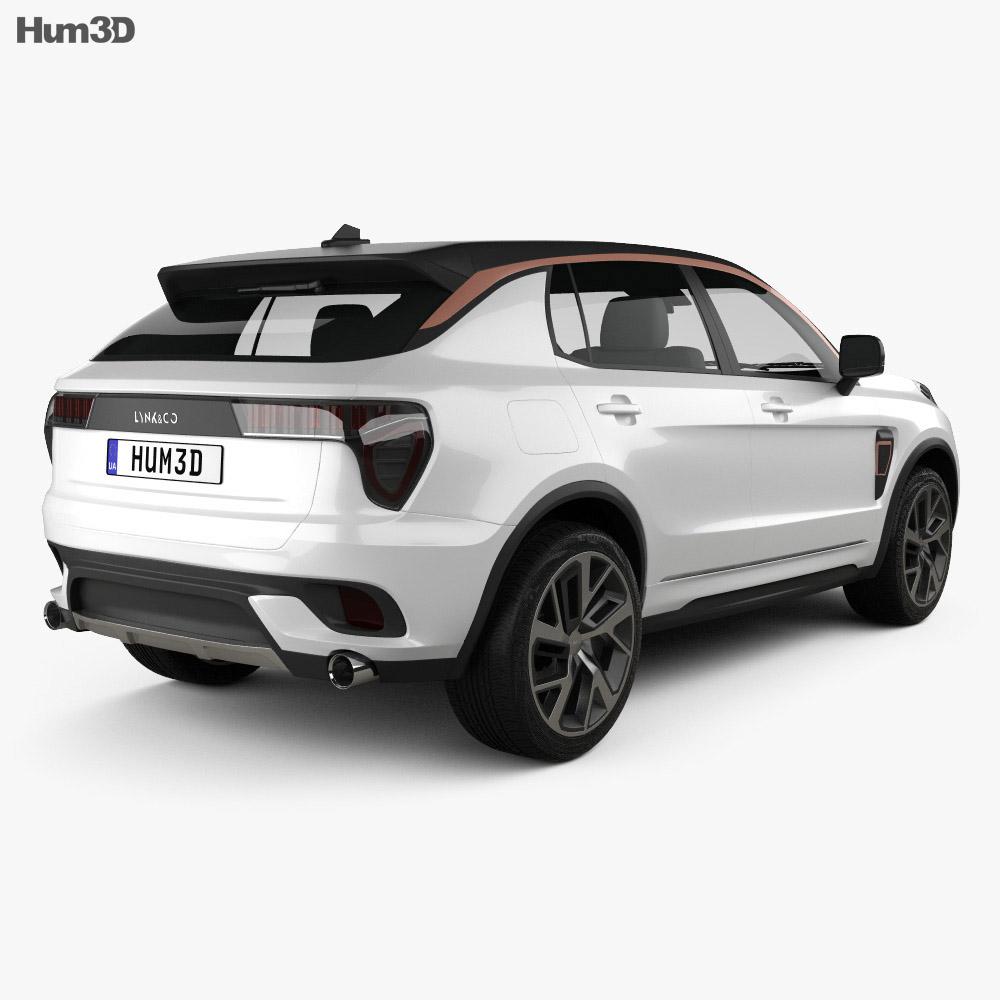 Lynk & Co 01 Sport 2016 3d model
