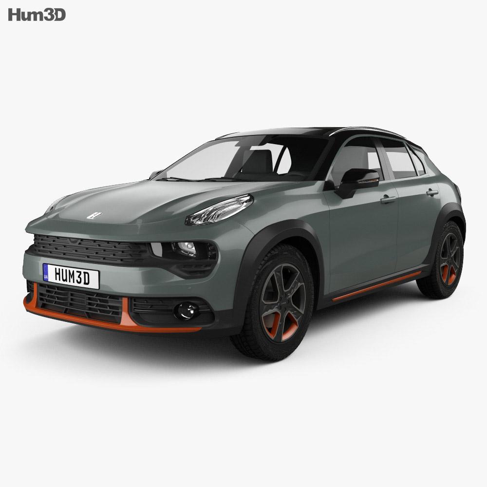 Lynk & Co 02 2018 3d model
