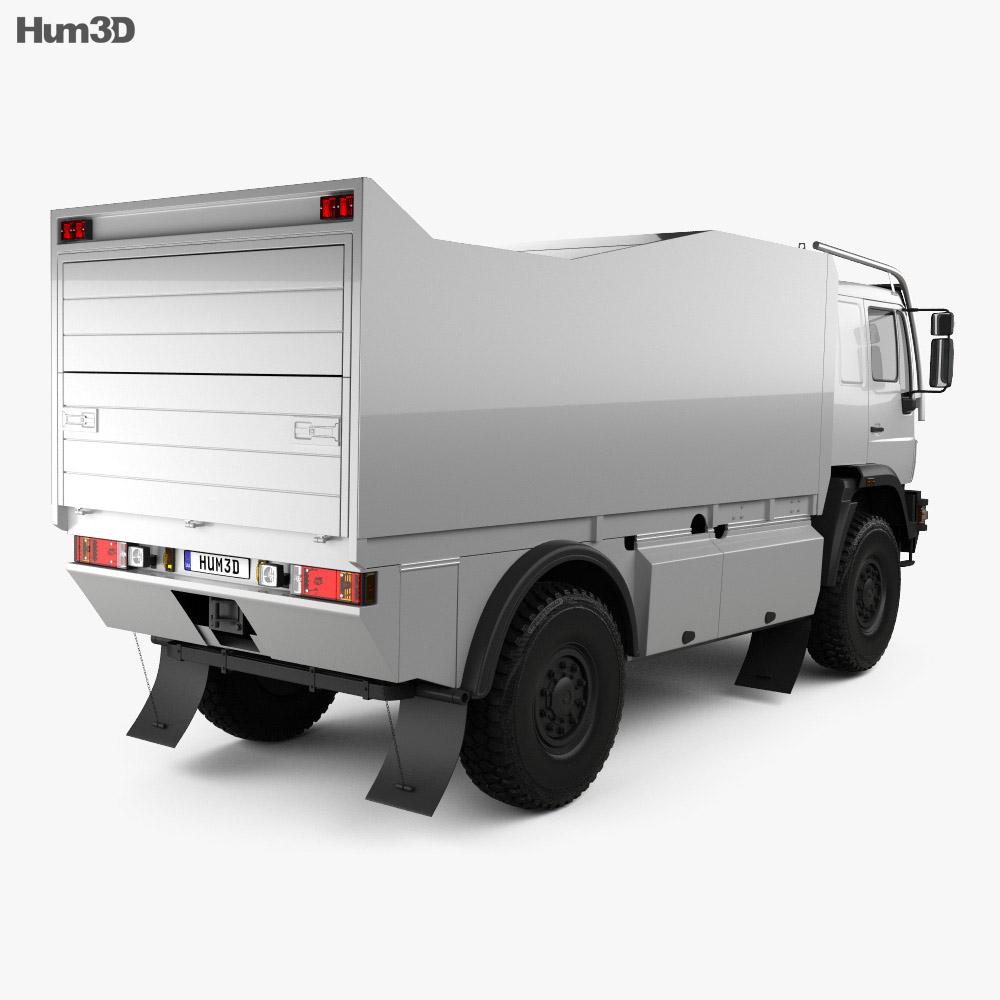 MAN L90 Rally Truck 2000 3d model