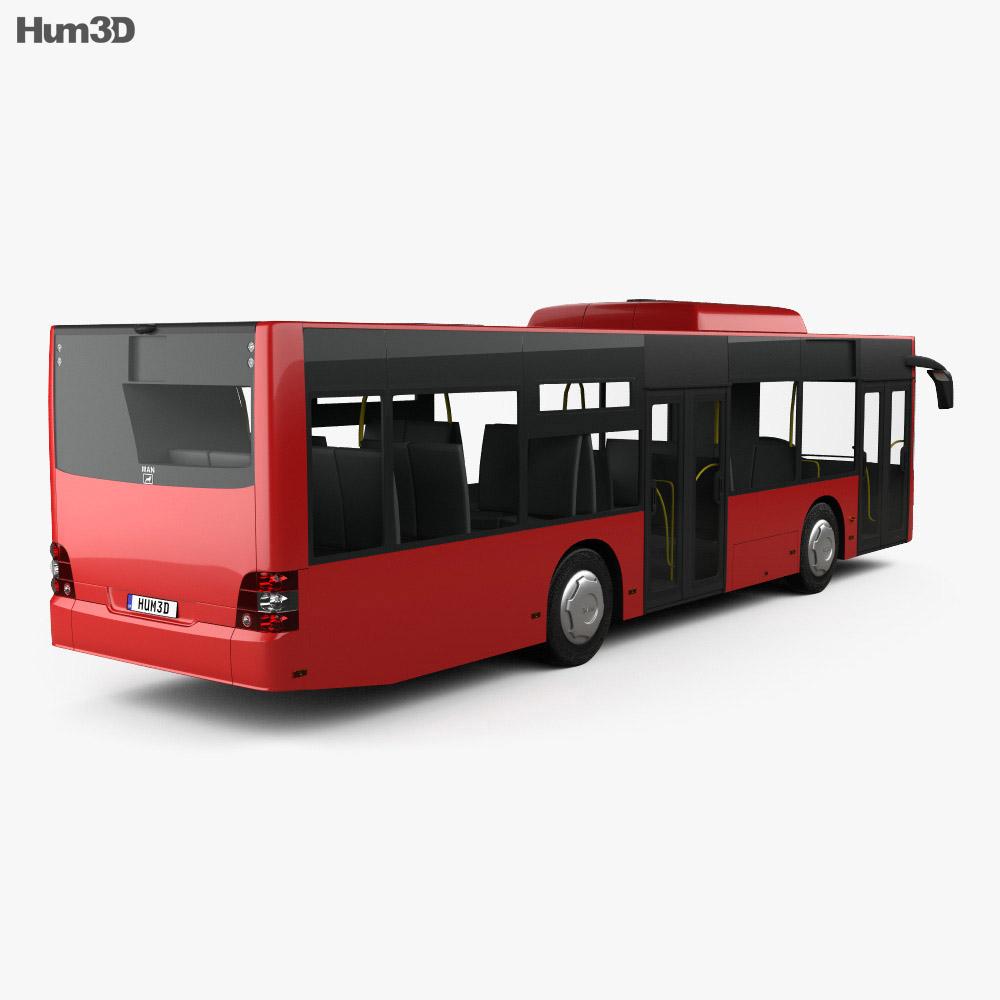 MAN Lion's City M Bus 2006 3d model