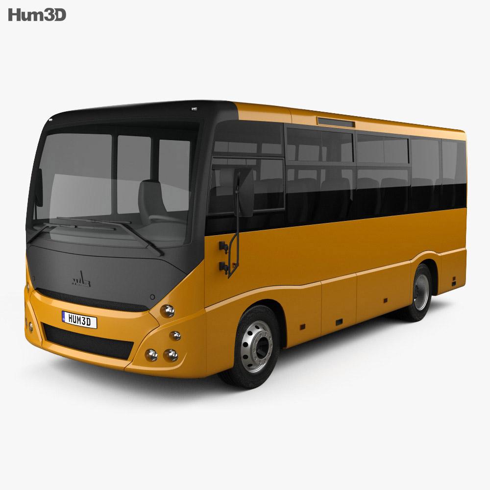 MAZ 241030 Bus 2016 3d model